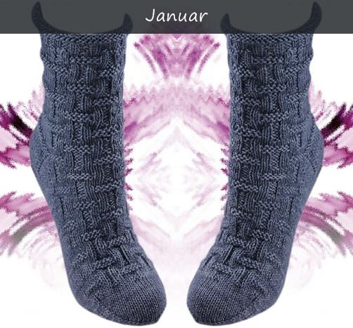 Januar - Korbgeflecht