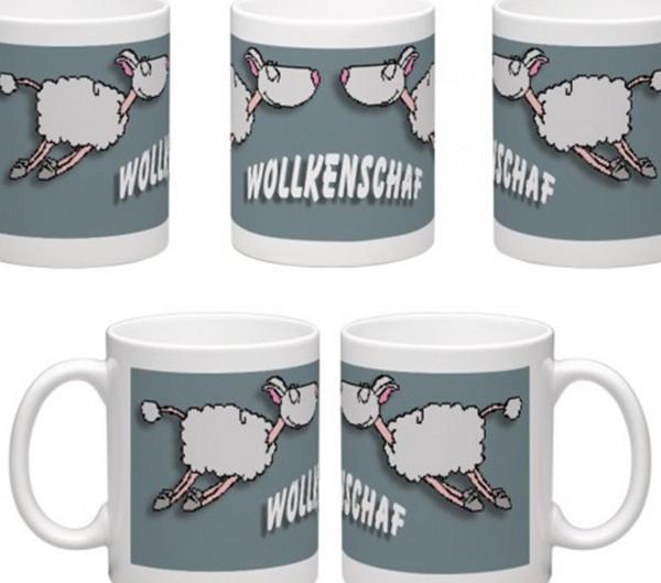 WOLLkenSchaf - Tasse