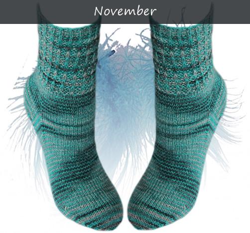 November - Dunkle Wollke