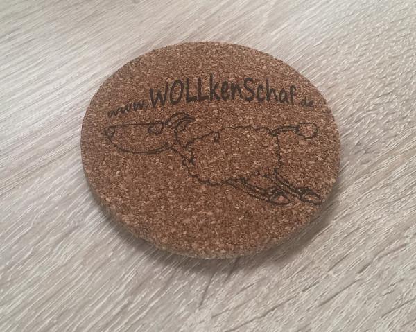 WOLLkenSchaf - Untersetzer