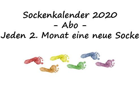 Garn-Abo Sockenkalender 2020